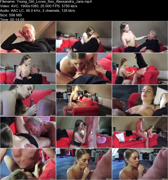 Alessandra Jane Young Girl Want Sex With Old Man FullHD 1080p