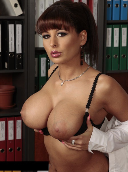 Alison Star Fuck Hot Secretary With Big Tits FullHD 1080p