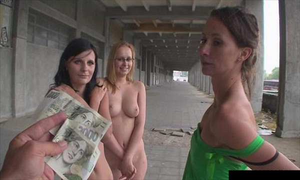 Amateur Show Tits On Street For Money HD 720p