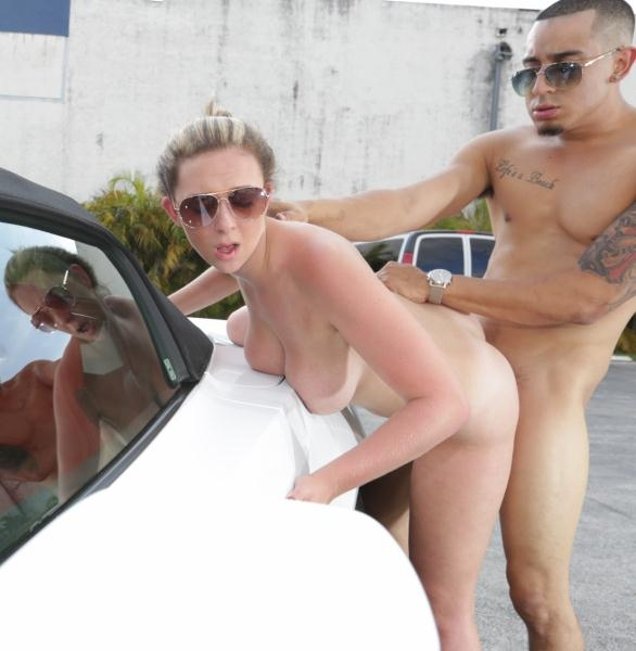 Brooke Wylde Ride On Car Girl And Fuck Them On Street SD 480p