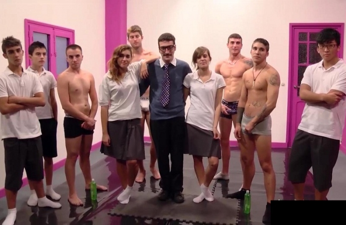 Jordi School Orgy With Teacher HD 720p
