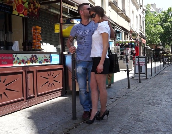 Victoria Tourist Couple Have Sex In France SD 360p