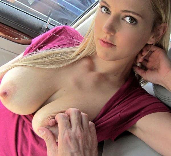 Mila Evans Sex In The Car Blonde Teen SD 480p