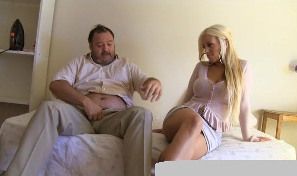 Blondie Fesser Glamour Blonde Girl Suck Dick Fat And Ugly Man HD 720p