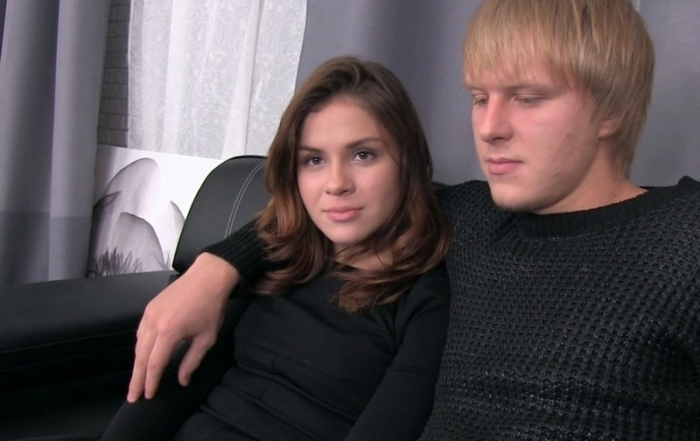 Heather Teen Couple On Porn Casting HD 720p